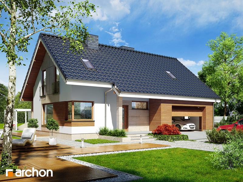 Проект дома ARCHON+ Дом в журавках (Г2) стилизация 3
