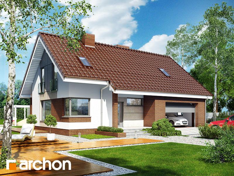 Проект будинку ARCHON+ Будинок в журавках (Г2) Вид 1