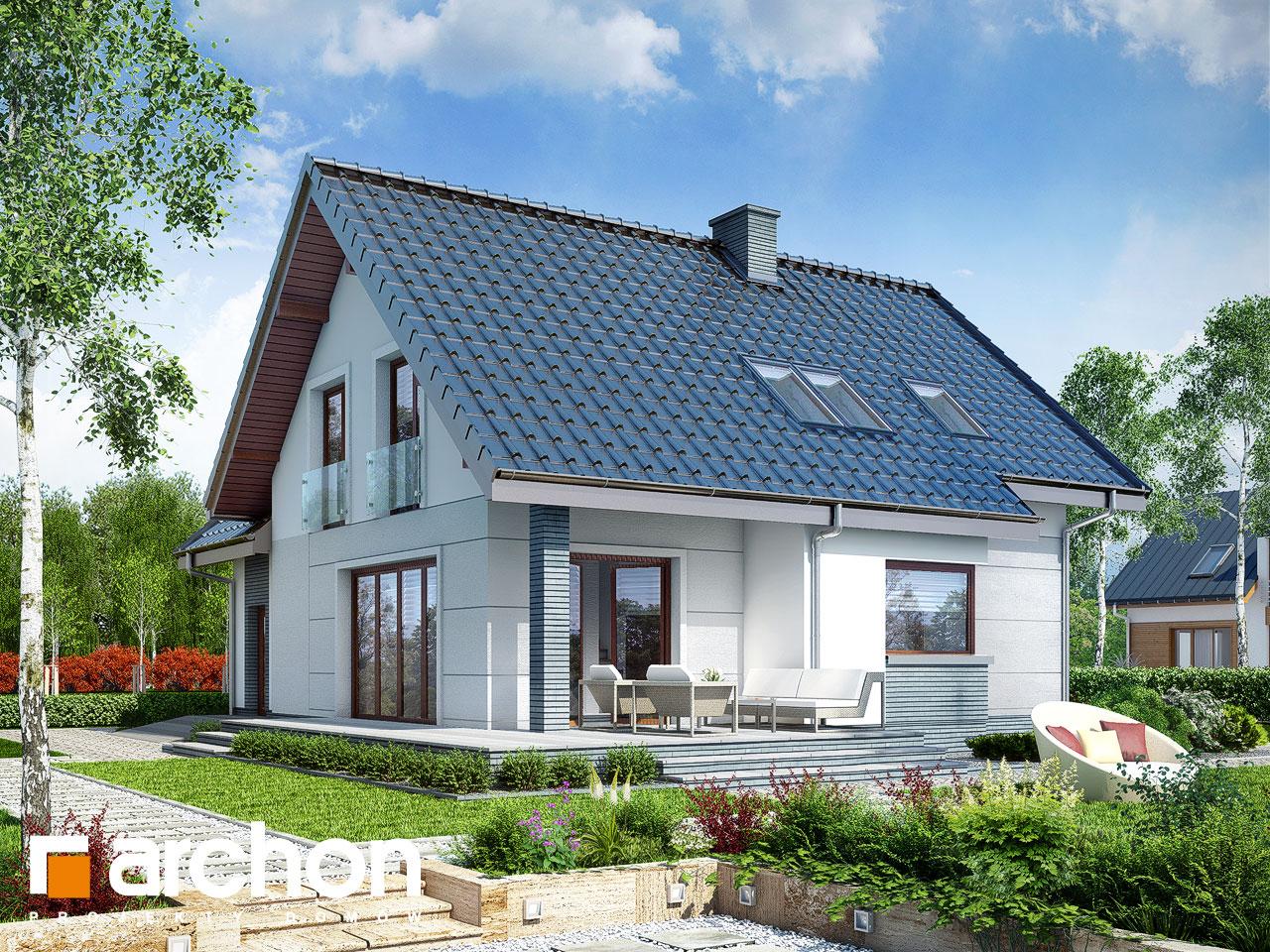 Проект будинку ARCHON+ Будинок в алоізіях Вид 2