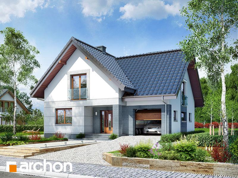 Проект будинку ARCHON+ Будинок в алоізіях Вид 1