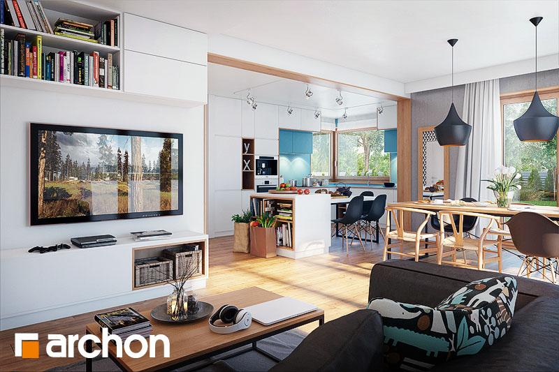Проект будинку ARCHON+ Будинок в алоізіях денна зона (візуалізація 1 від 1)