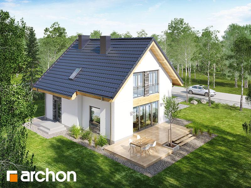 Проект будинку ARCHON+ Будинок в хлорофитумі 3 додаткова візуалізація