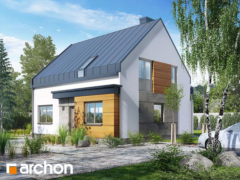 Проект будинку ARCHON+ Будинок в хлорофитумі 3 стилізація 4