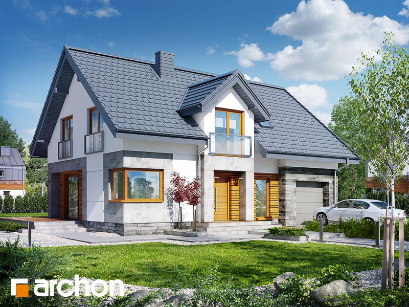 Проект будинку ARCHON+ Будинок у яновцях  Вид 1