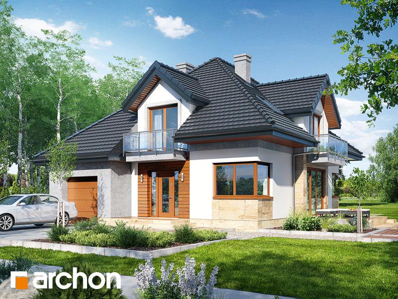 Проект будинку ARCHON+ Будинок у вавжинках Вид 1