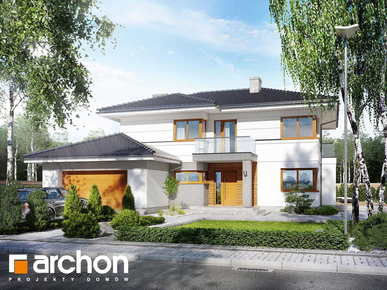 Проект будинку ARCHON+ Вілла Олівія Вид 2