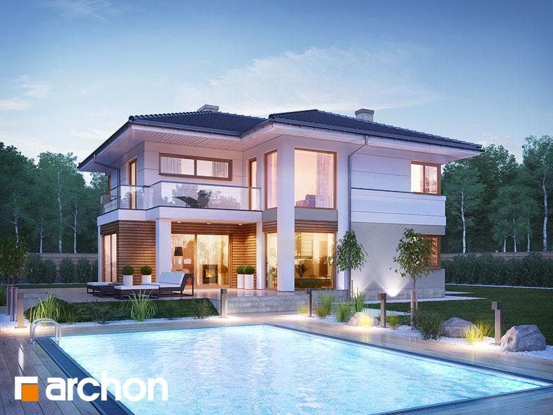 Проект будинку ARCHON+ Вілла Олівія Вид 1