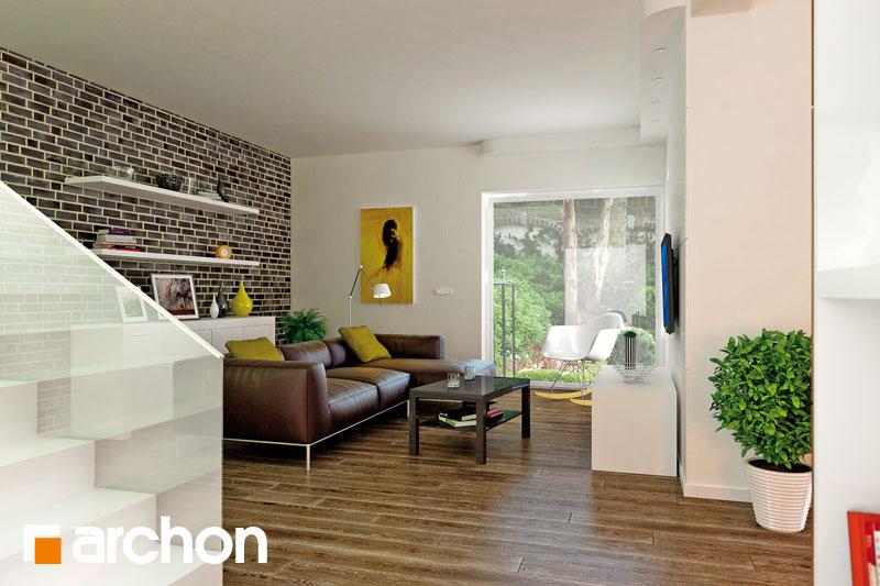 Проект будинку ARCHON+ Вілла Олівія денна зона (візуалізація 1 від 4)