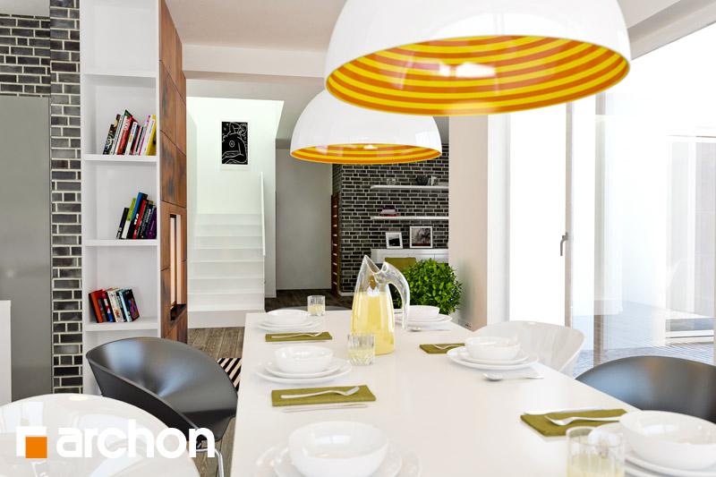 Проект будинку ARCHON+ Вілла Олівія денна зона (візуалізація 1 від 5)