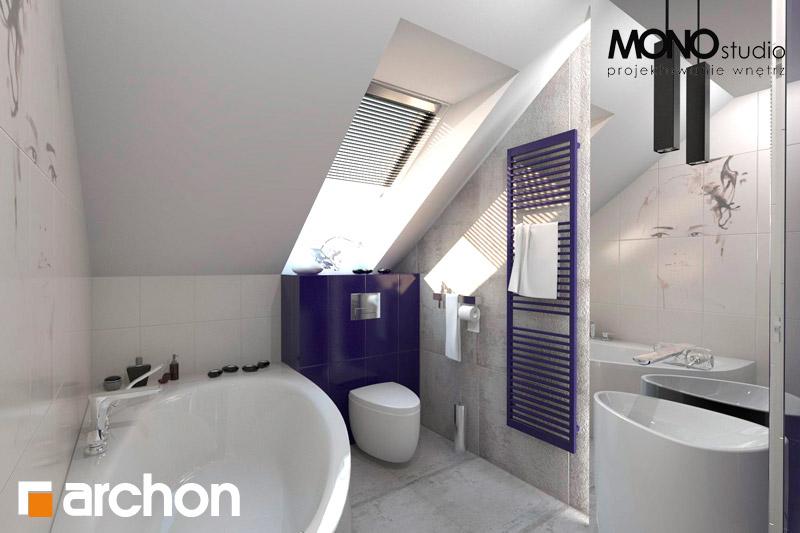 Проект дома ARCHON+ Дом в гейджее (П) визуализация ванной (визуализация 1 вид 3)