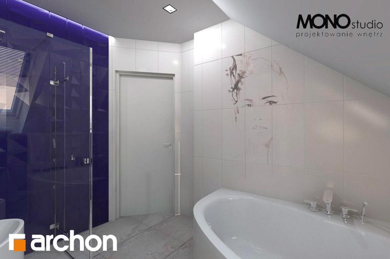 Проект дома ARCHON+ Дом в гейджее (П) визуализация ванной (визуализация 1 вид 4)