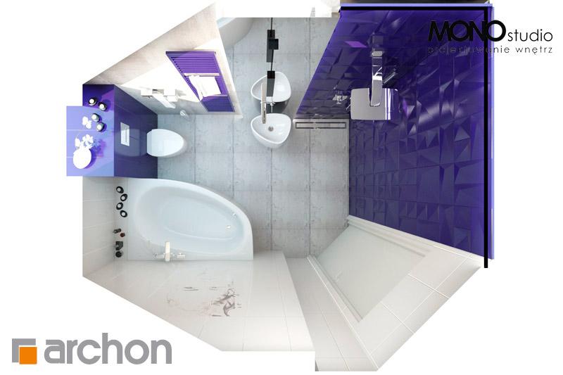 Проект дома ARCHON+ Дом в гейджее (П) визуализация ванной (визуализация 1 вид 5)