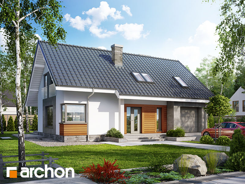 Проект будинку ARCHON+ Будинок в гейджею (П) Вид 1