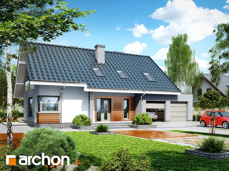 Проект будинку ARCHON+ Будинок в гейджею (Г2) Вид 1