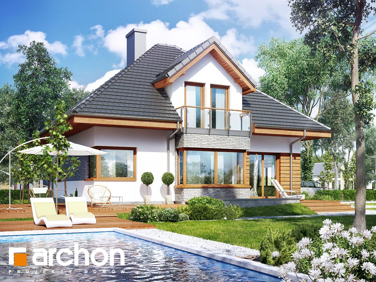 Проект будинку ARCHON+ Будинок в руколі 2 (Г2H) Вид 2