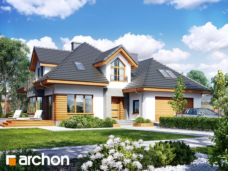 Проект будинку ARCHON+ Будинок в руколі 2 (Г2H) Вид 1