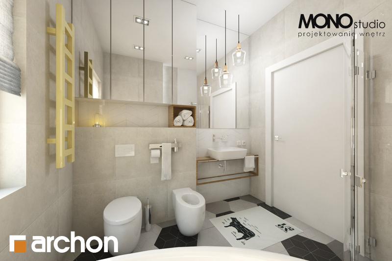 Проект будинку ARCHON+ Будинок в грушках візуалізація ванни (візуалізація 1 від 1)