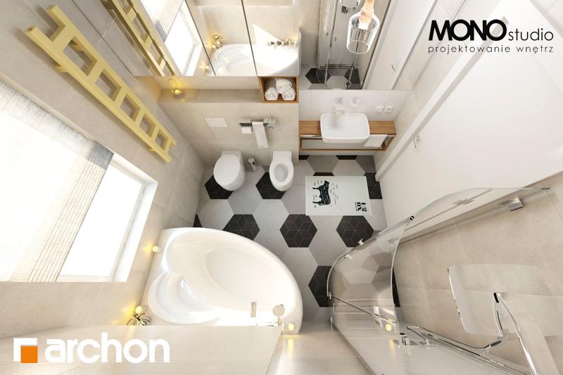 Проект будинку ARCHON+ Будинок в грушках візуалізація ванни (візуалізація 1 від 5)