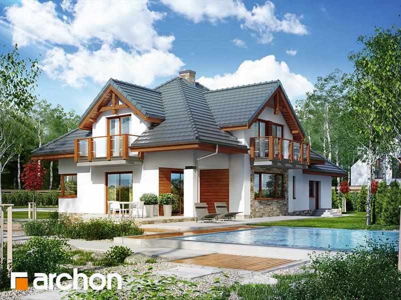 Проект будинку ARCHON+ Будинок в каннах додаткова візуалізація