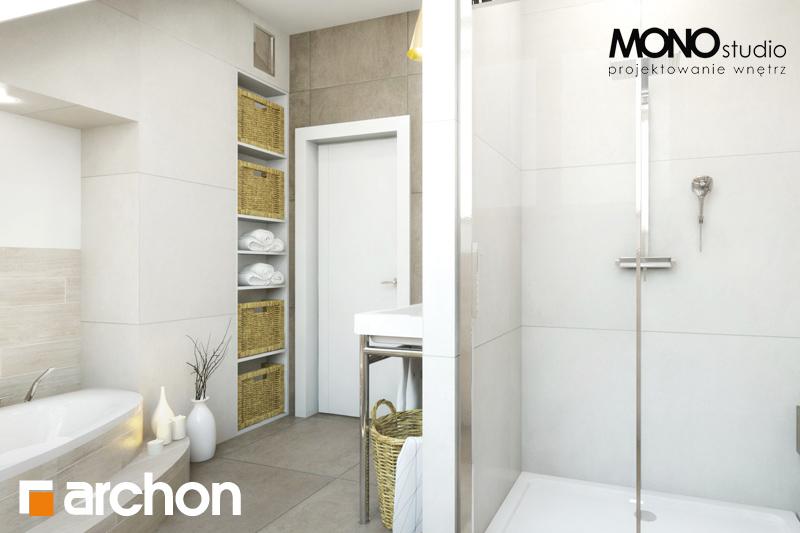 Проект будинку ARCHON+ Будинок в каннах візуалізація ванни (візуалізація 1 від 1)