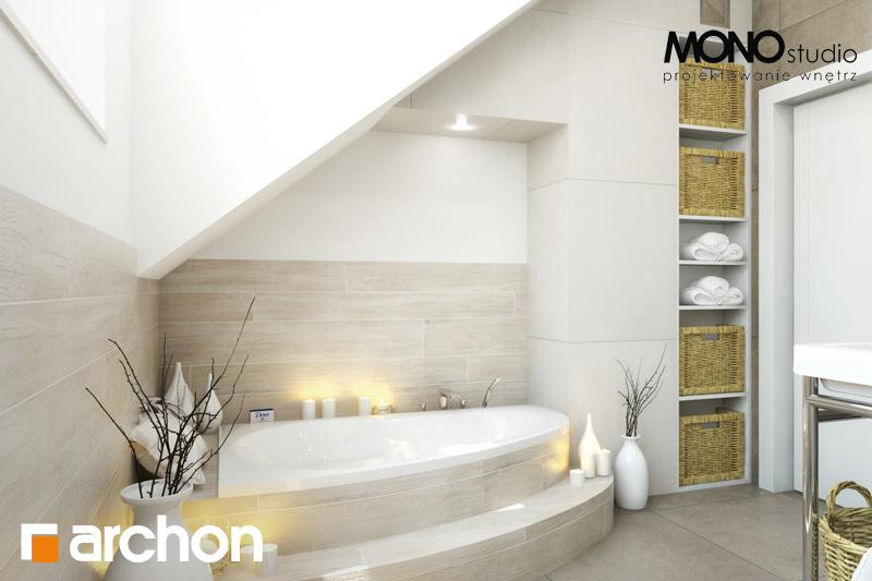 Проект будинку ARCHON+ Будинок в каннах візуалізація ванни (візуалізація 1 від 2)