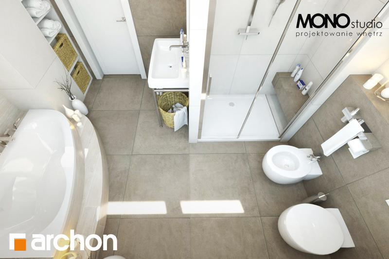 Проект будинку ARCHON+ Будинок в каннах візуалізація ванни (візуалізація 1 від 5)