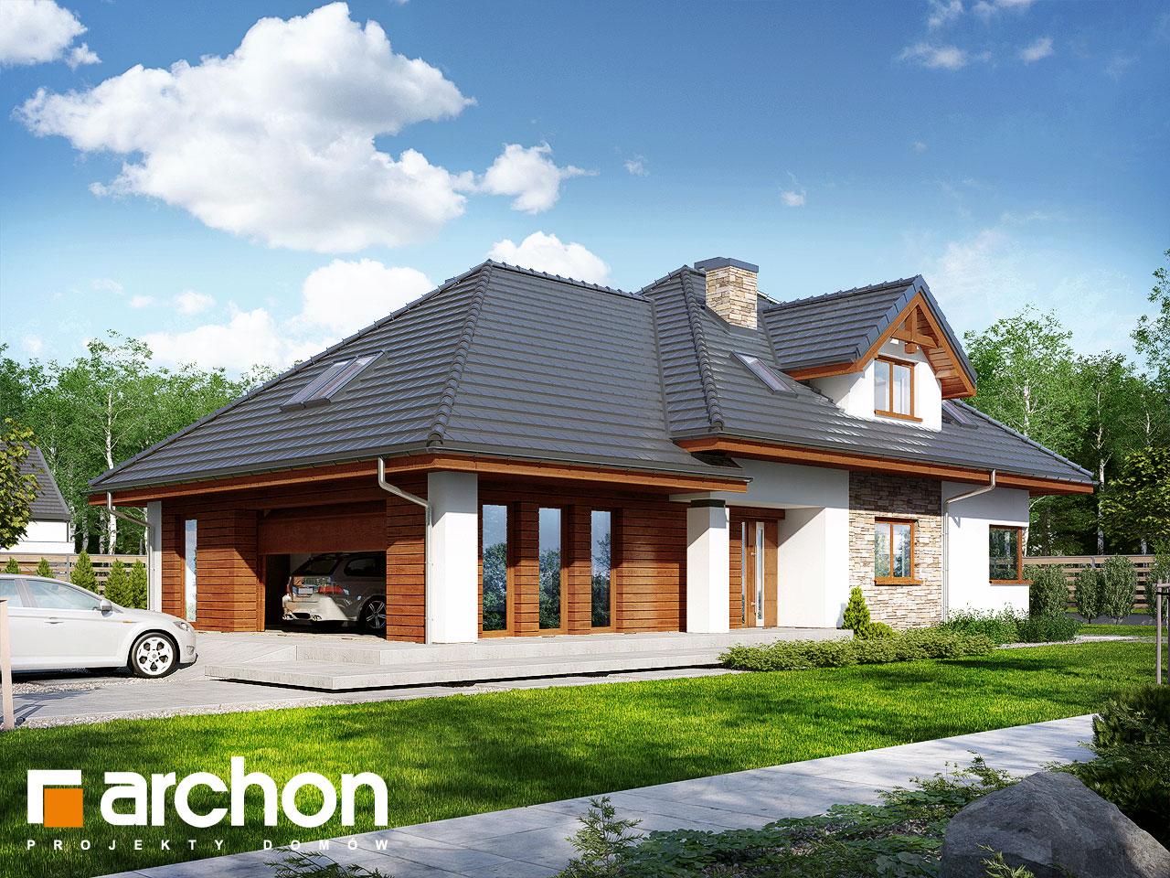 Проект будинку ARCHON+ Будинок в каннах стилізація 3