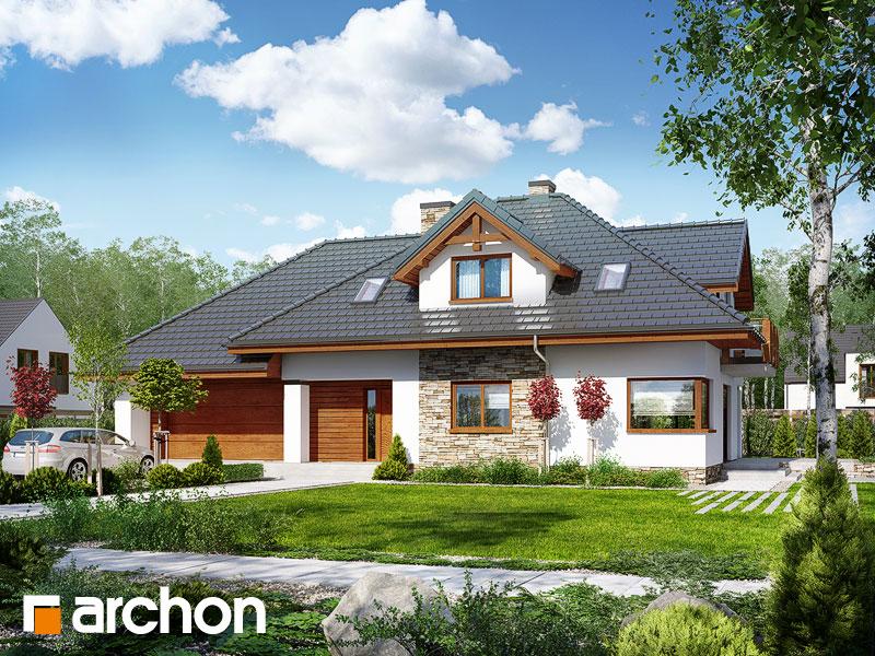Проект будинку ARCHON+ Будинок в каннах Вид 1