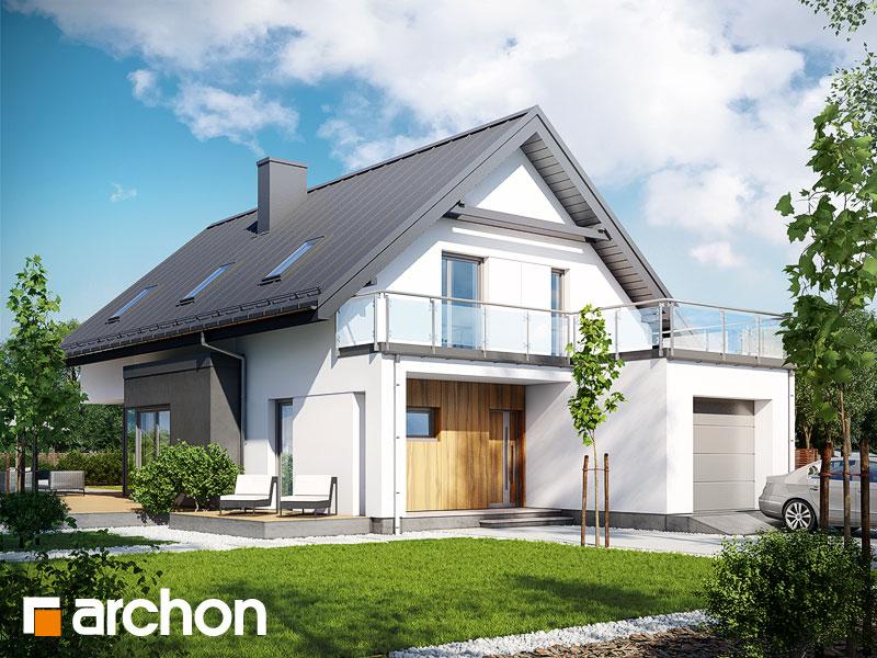 Проект дома ARCHON+ Дом под хикорой Вид 1