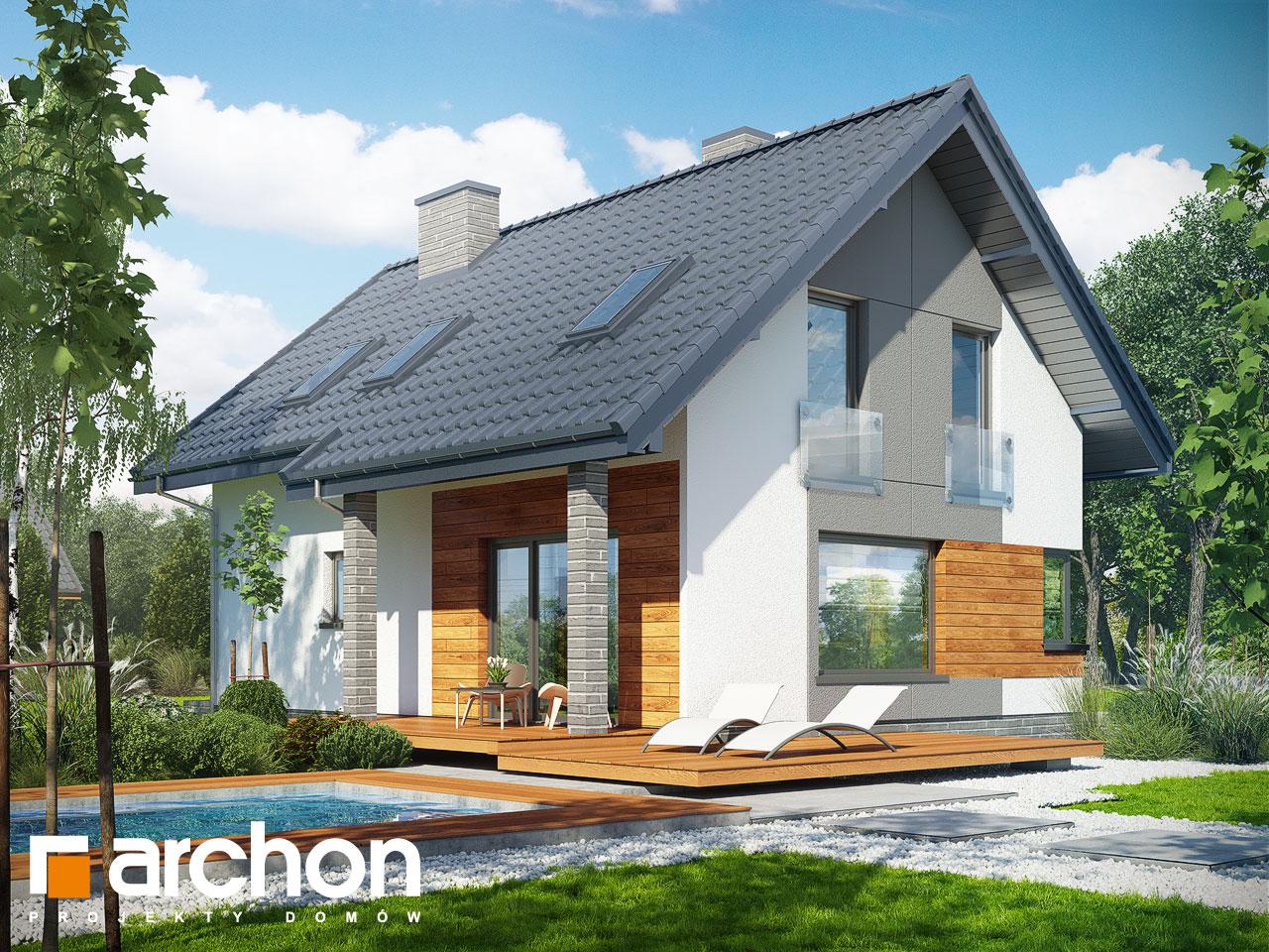 Проект дома ARCHON+ Дом в журавках 2 Вид 2