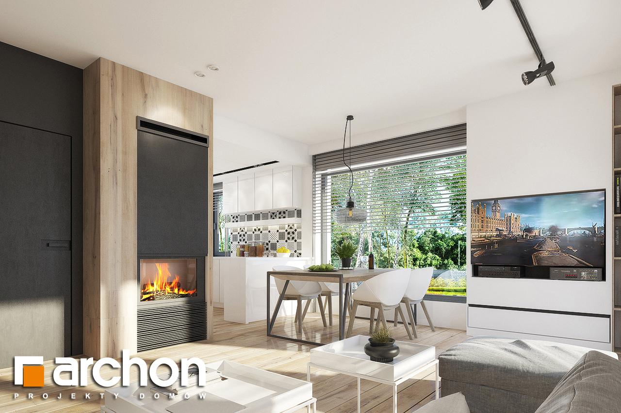 Проект будинку ARCHON+ Будинок в журавках 2 денна зона (візуалізація 1 від 7)