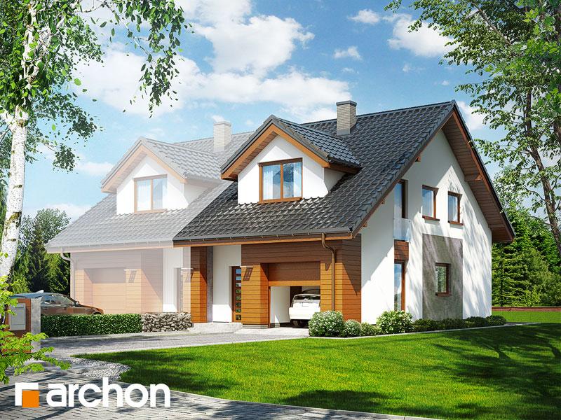 Проект будинку ARCHON+ Будинок під гінко (ГБСМ) Вид 1