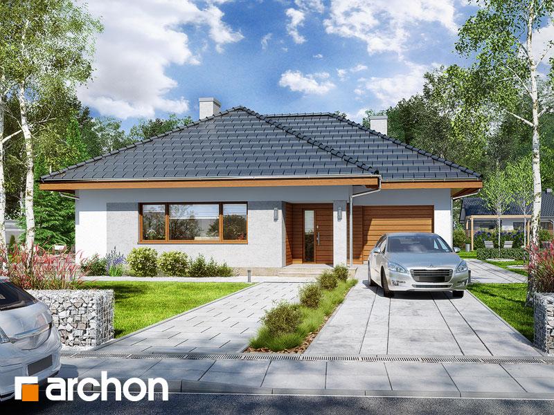 Проект будинку ARCHON+ Будинок в бузку 2 Вид 1