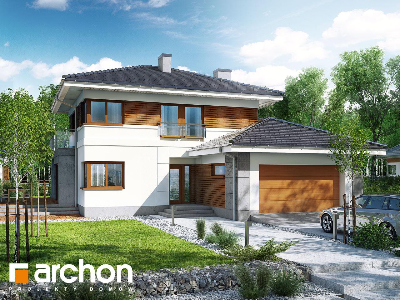 Проект будинку ARCHON+ Вілла Еліза Вид 2