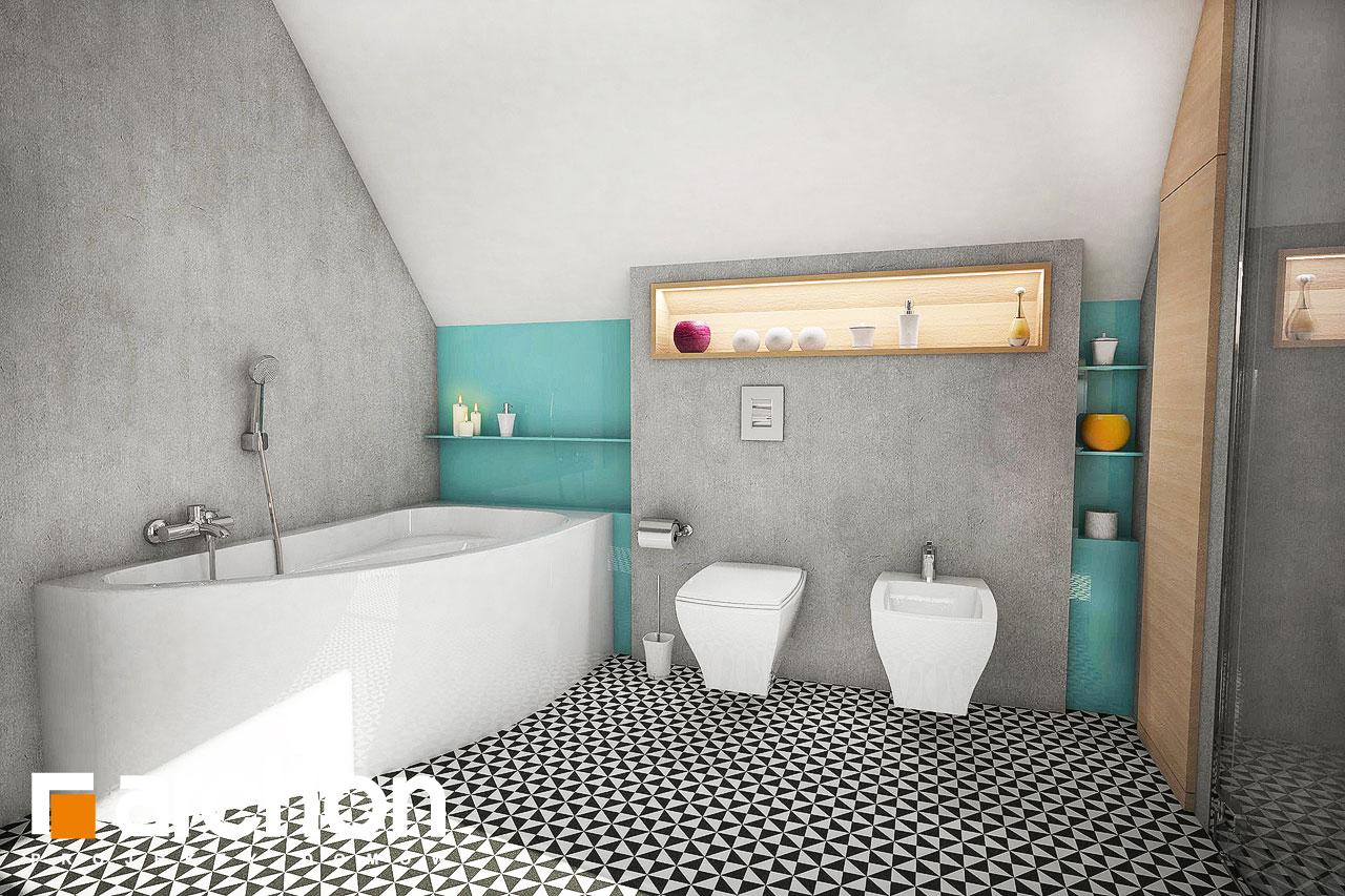 Проект будинку ARCHON+ Будинок в журавках 3 візуалізація ванни (візуалізація 3 від 3)