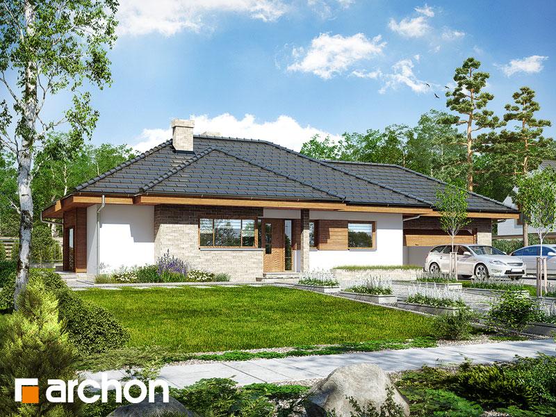Проект будинку ARCHON+ Будинок під ціцербітою (Г2) Вид 1