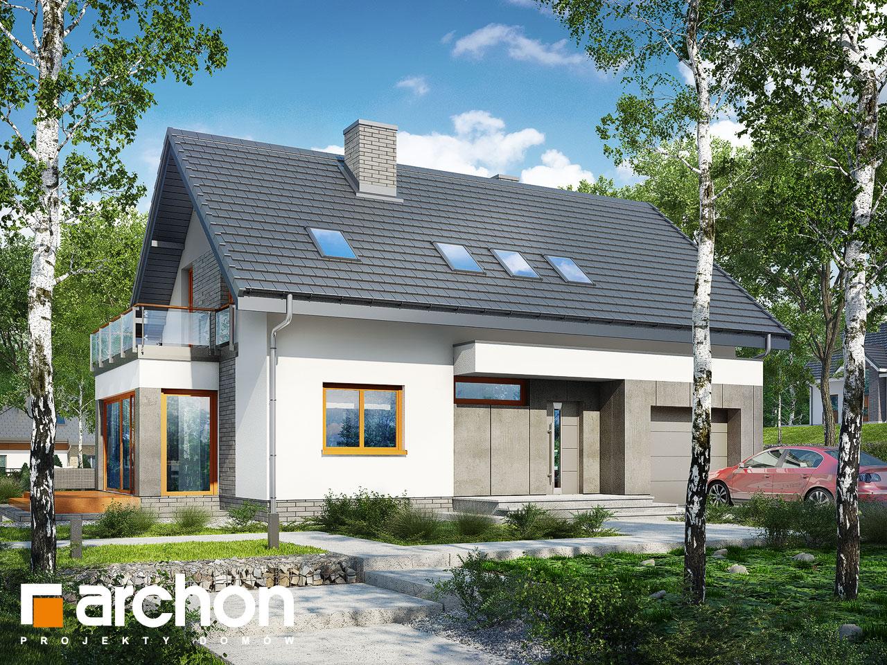 Проект будинку ARCHON+ Будинок під ацеролею Вид 2