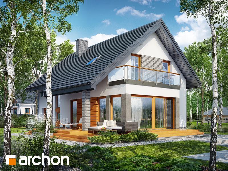 Проект будинку ARCHON+ Будинок під ацеролею Вид 1