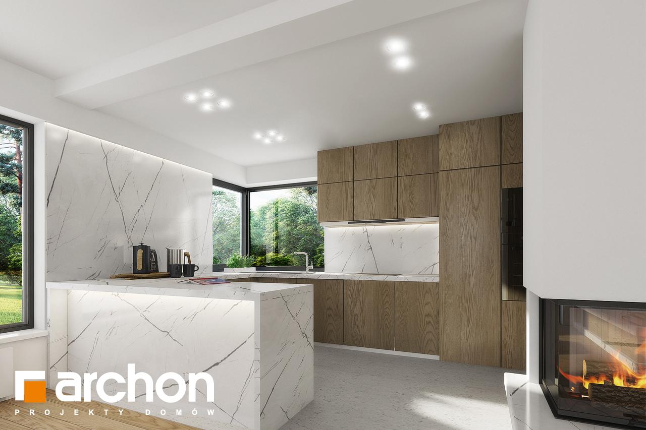 Проект будинку ARCHON+ Будинок в яблонках 2 візуалізація кухні 1 від 1