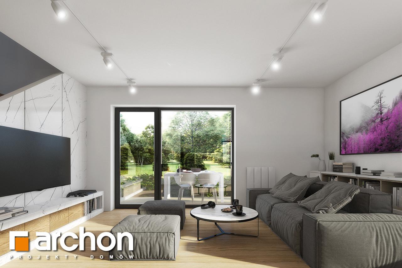 Проект будинку ARCHON+ Будинок в яблонках 2 денна зона (візуалізація 1 від 1)