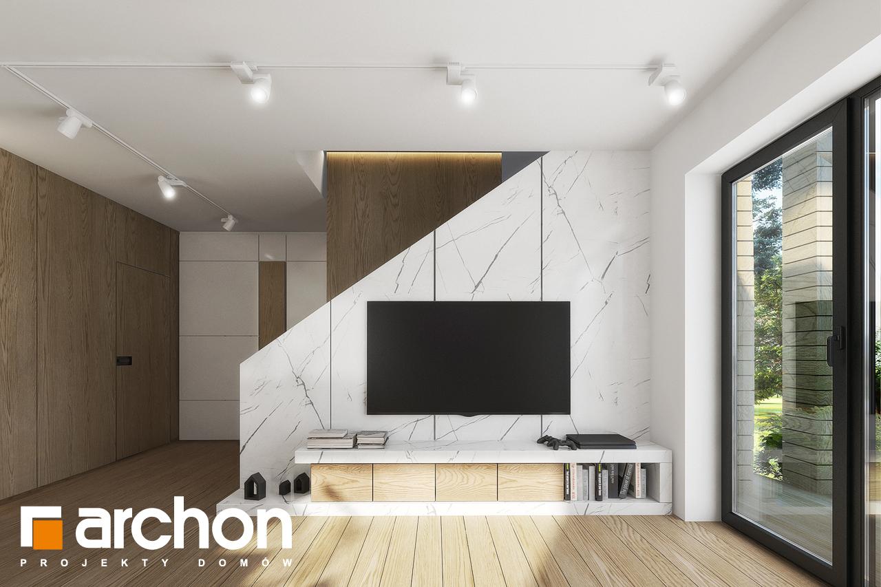 Проект будинку ARCHON+ Будинок в яблонках 2 денна зона (візуалізація 1 від 4)