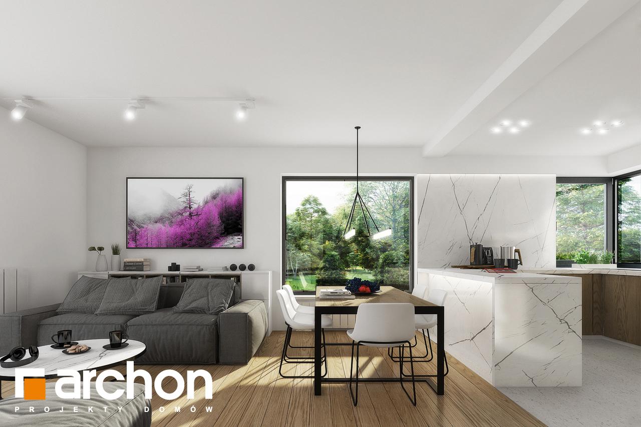 Проект будинку ARCHON+ Будинок в яблонках 2 денна зона (візуалізація 1 від 5)