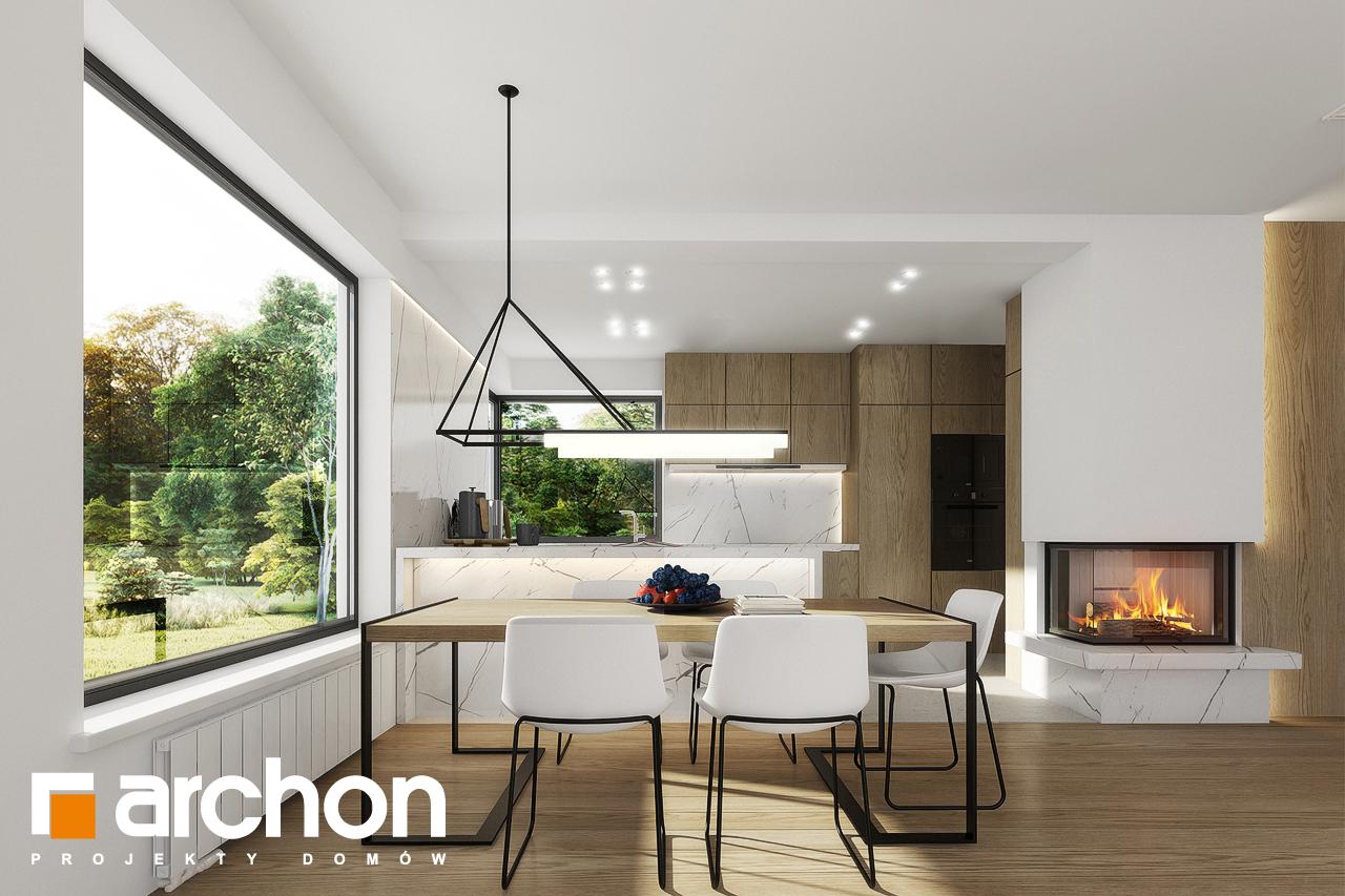 Проект будинку ARCHON+ Будинок в яблонках 2 денна зона (візуалізація 1 від 7)