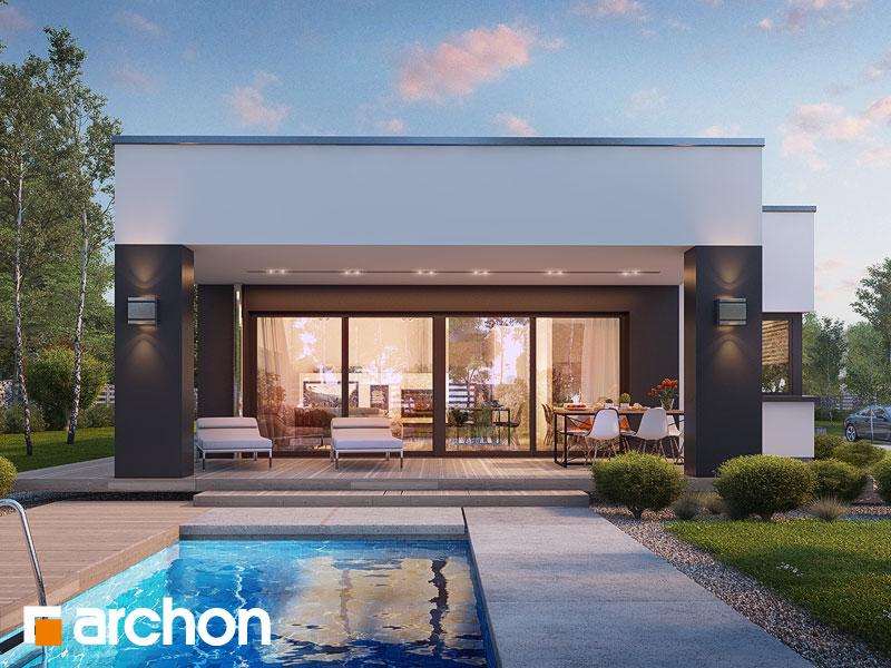 Проект будинку ARCHON+ Будинок в пепероміях (Г2) Вид 1
