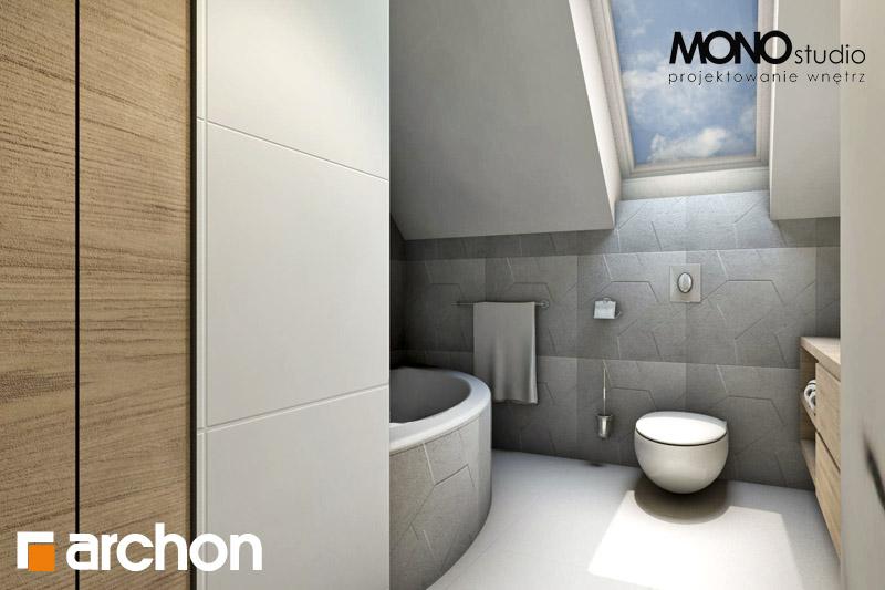 Проект будинку ARCHON+ Будинок в яблонках (Т) візуалізація ванни (візуалізація 1 від 4)
