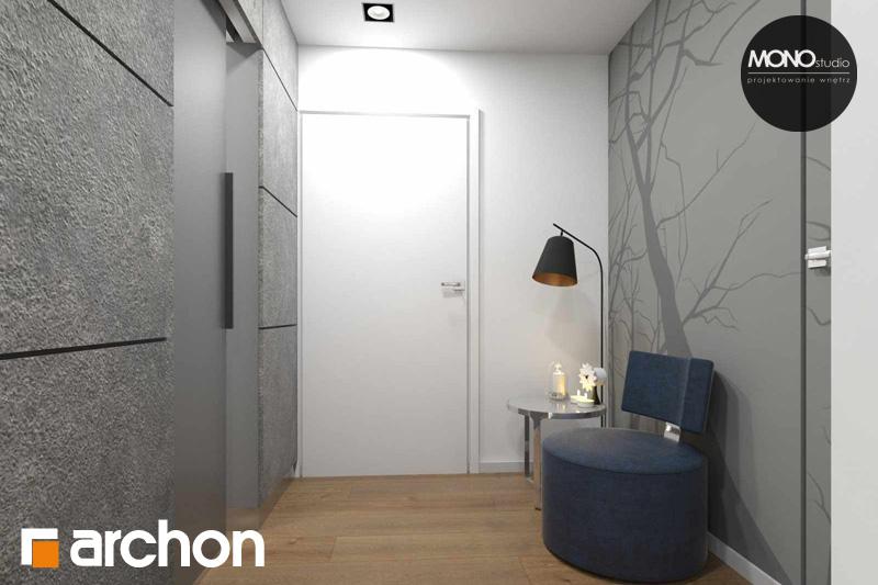 Проект будинку ARCHON+ Будинок в яблонках (Т) денна зона (візуалізація 2 від 7)