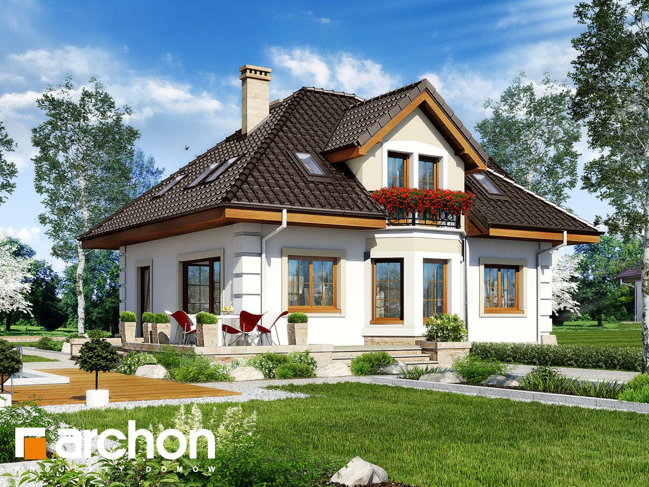 Проект будинку ARCHON+ Будинок в руколі 4 Вид 2