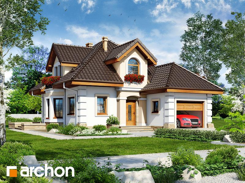 Проект будинку ARCHON+ Будинок в руколі 4 Вид 1