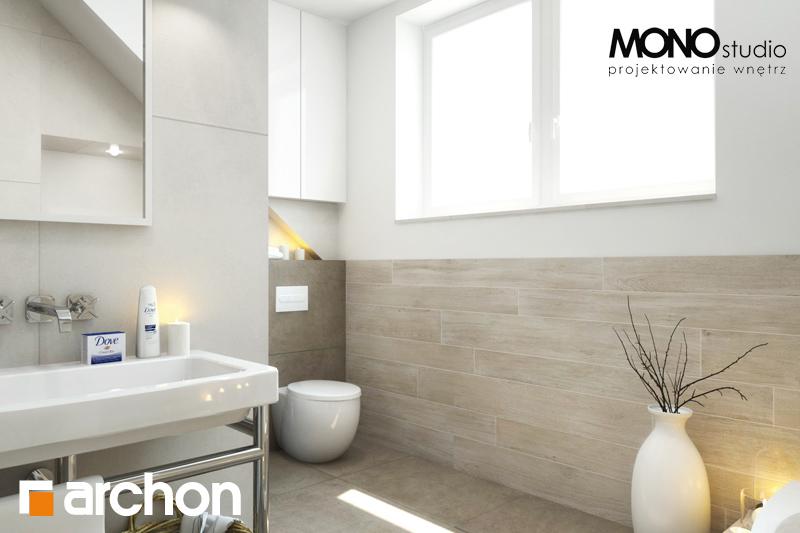 Проект будинку ARCHON+ Будинок в каннах 2 (П) візуалізація ванни (візуалізація 3 від 2)