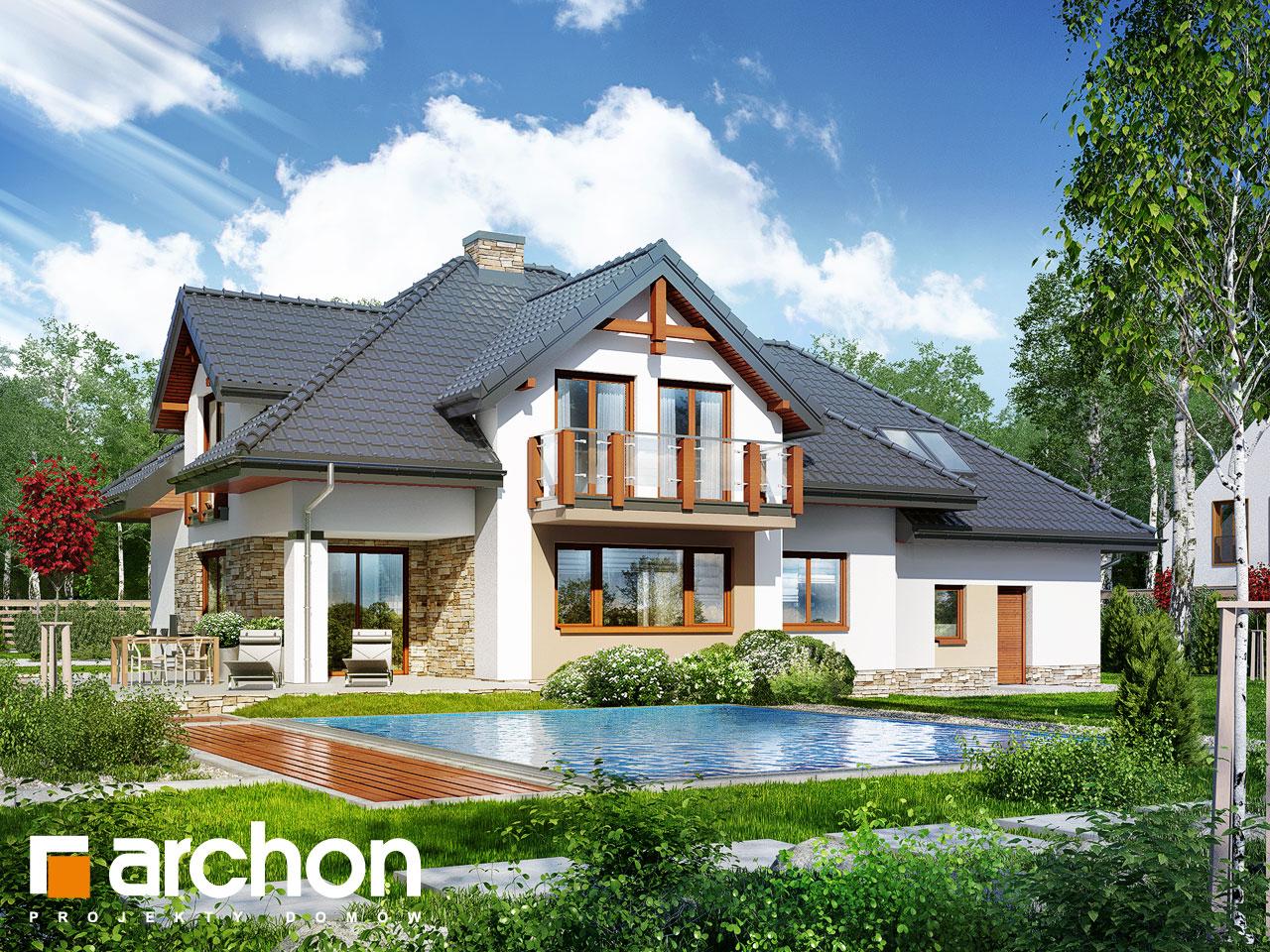 Проект будинку ARCHON+ Будинок в каннах 2 (П) Вид 2